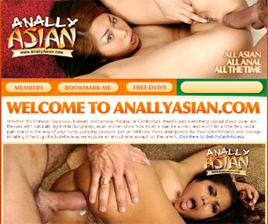 Anally Asian - cute asian chicks with naturally tight little bungholes