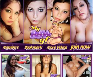 MyBBWGf - Horny Big Beautiful Teens! Pretty chubby ueen girls with big tits! MySpace Whores!